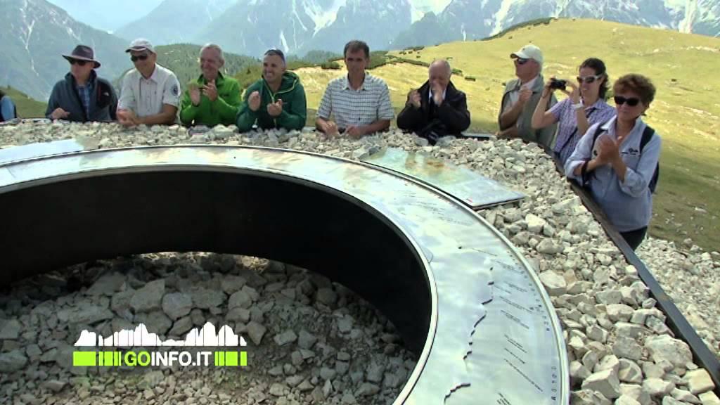 La prima terrazza panoramica sulle Dolomiti patrimonio UNESCO ...