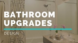 BUDGET BATHROOM UPGRADES   Small Space Makeover