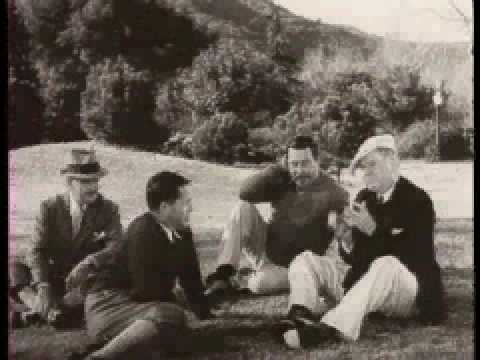 Bobby Jones consoles W.C. Fields on his poor golf swing