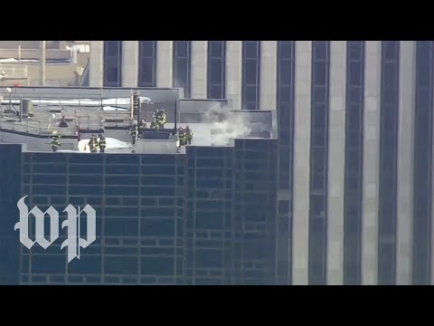 FDNY responds to fire at Trump Tower