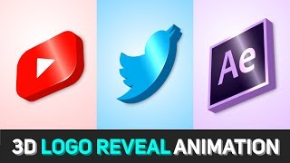 Le Logo 3D Animation dans After Effects After Effects Tutorial - Pas de plug-in Tiers (Modèle Gratuit)