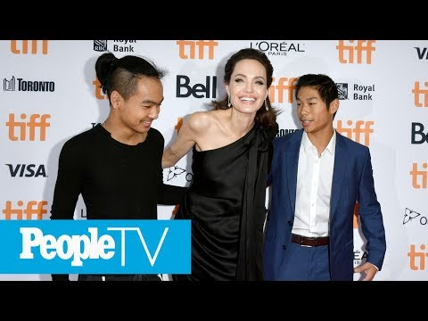 Angelina Jolie Opens Up About Her 'Difficult' Year: 'I Am A Little Bit Stronger' | PeopleTV