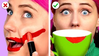 Oops 10 Easy And Useful Beauty Hacks and DIY Girly Ideas