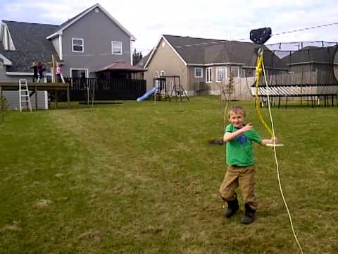 backyard zip line youtube