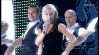 Malena Ernman - La voix - Melodifestivalen 2009 (Eurovision Sweden)