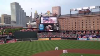 Бейсбол 15 августа Балтимор - гимн США