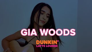 Gia Woods Performs Live At The Dunkin Latte Lounge