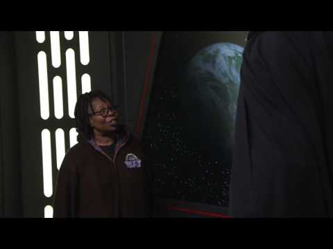 Whoopi Goldberg Faces Darth Vader | The View