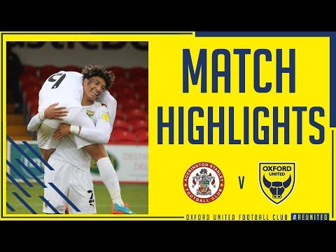 Accrington Oxford Utd Goals And Highlights