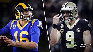 NFC CHAMPIONSHIP GAME SAINTS VS RAMS PREDICTIONS