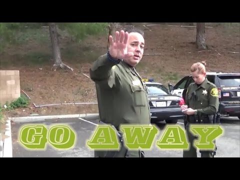 """Go away"" Orange County Sheriff's Department Yorba Linda First Amendment Audit FAIL"