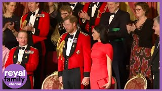 Standing Ovation for Harry and Meghan as they Complete Last Few Engagements