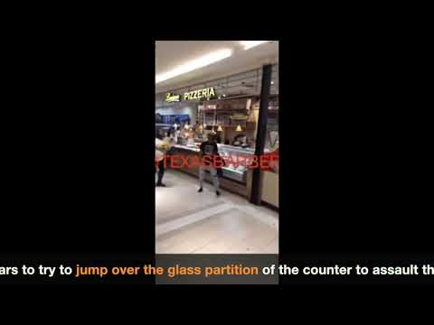 Michael Berry - Trouble at the Houston Galleria Food Court