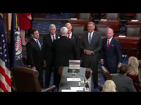 Former Gov. Rick Scott sworn in as U.S. senator
