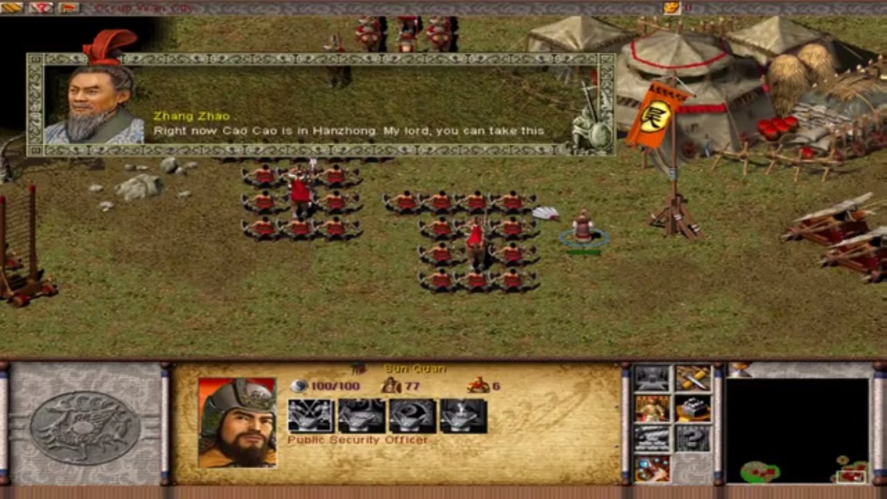Dragon Throne Battle of Red Cliffs - Sun Quan Level 2 ...