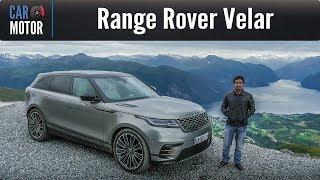 Range Rover Velar - Prueba mundial desde Noruega