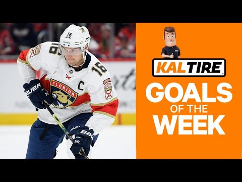NHL Goals Of The Week: Barkov Shows Off Amazing Hands