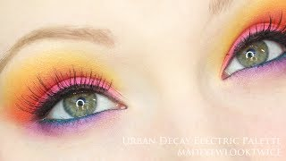 Electric Palette Makeup Tutorial | UD Thumbnail