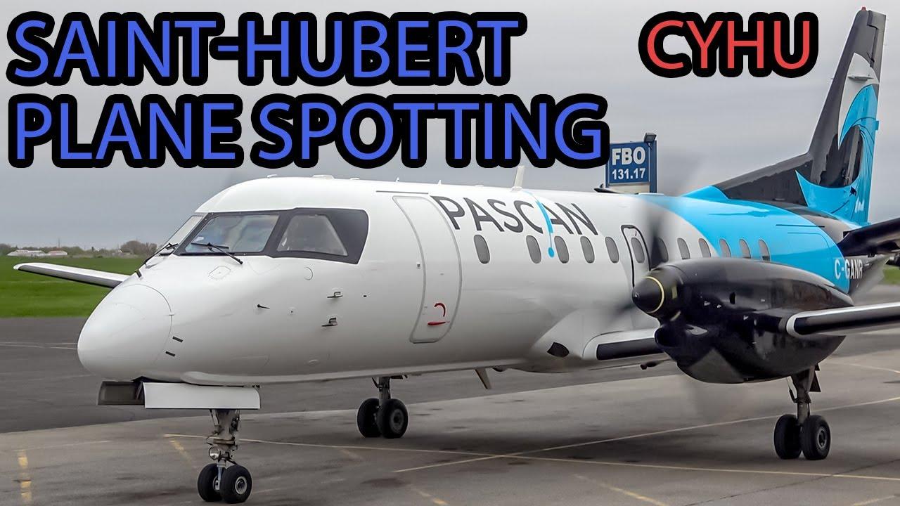 Download Ultimate Plane Spotting at Montreal Saint-Hubert airport (YHU) - SQ H145, B732, Saab 340 and more!