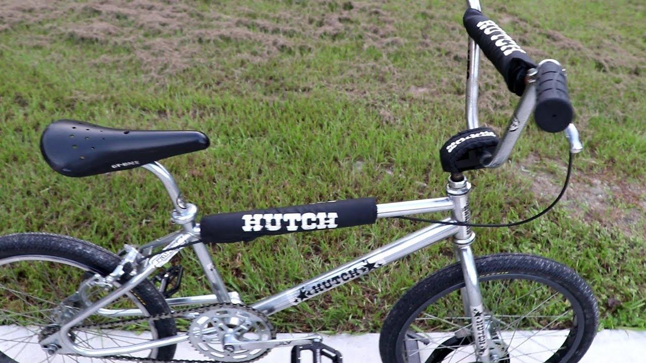 My Hutch Bmx Bike Youtube