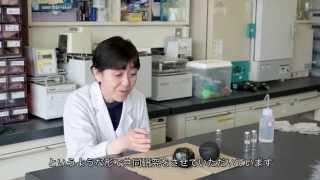 理学部 化学科 西本 右子 教授と工学部 化学教室 岩倉 いずみ 准教授の...