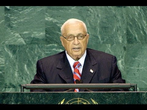 Israel : Prime Minister Ariel Sharon Speech at the U.N. General Assembley (Sept, 15 2005)