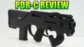 Airsoft Magpul PTS PDR-C Review & Gameplay (PDW-R)