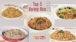 Top 5 variety rice 2015 - home cooking
