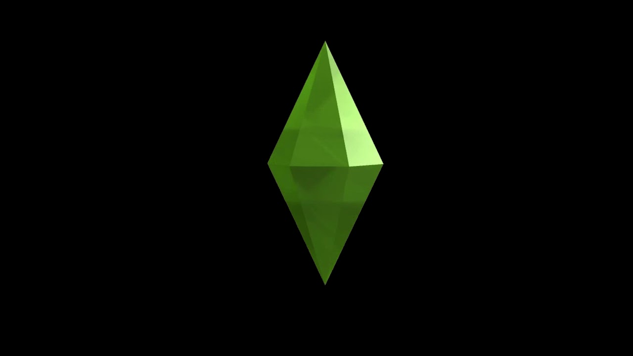 Sims 4 Spinning Plumbob Black Background Youtube