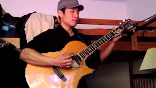 The Little Mermaid - Kiss the Girl - Solo Fingerstyle Acoustic Guitar - Andrew Chae