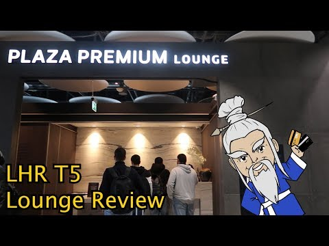 London Heathrow PLAZA PREMIUM Lounge Review!!