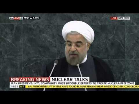 Iran President Calls For Nuclear Disarmament Talks