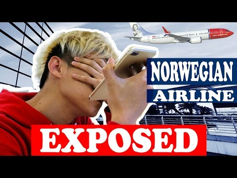 EXPOSING NORWEGIAN AIRLINE!! (PLEASE SHARE)