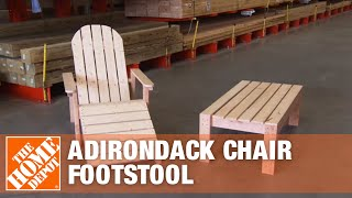 Join Associate Ashley Townsend & DIY blogger Ana White as they construct a footstool for an adirondack chair. They show each