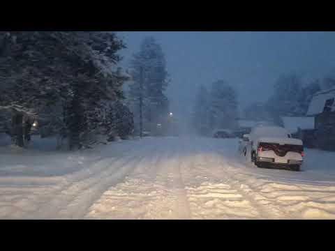 Kalispell Montana winter roads