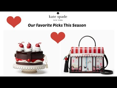 Kate Spade Ma Chérie Cherry Cake Bag Favorites With Cherries And Bull Dogs