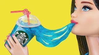 10 DIY Die Kleinsten Schleime Der Welt / Verrückte Tricks Für Deine Barbie