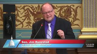 Sen. Runestad introduces SB 335 to allow graduation ceremonies