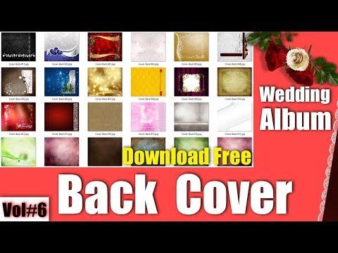 25+ Best Modern Wedding Album Back Cover PSD Templates 1 To 25 Vol#6