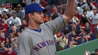 MLB The Show 18 (Boston Red Sox Season Mode) Game #149 - NYM @ BOS