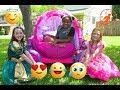 High Top Princess 6 - The Pink Disney Princess Carriage and The Emoji