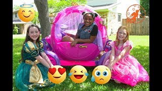 High Top Princess 6 - The Pink Princess Carriage and The Emoji