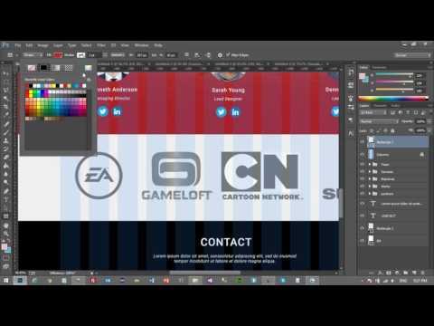 Yeni Başlayanlar İçin Web Sitesi Tasarımı - Photoshop, HTML5, CSS3, Bootstrap - Ders 8
