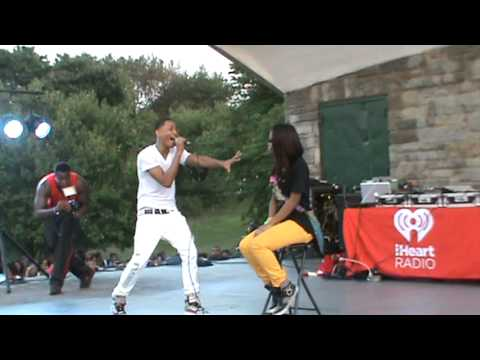 Jacob Latimore performing in Chester Pa (part 1) 8/30/12
