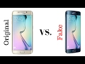Real Samsung s6 edge vs fake s6 edge
