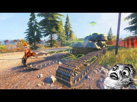 World of Tanks Приколы, БАГи - забавные моменты из  МИРА ТАНКОВ thumbnail