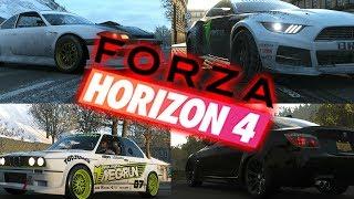 Forza Horizon 4 - ზამთარი, BMW e60 და 3 დრიფტ მანქანა