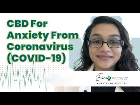 CBD For Anxiety From Coronavirus (COVID-19)