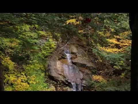 FZ300 4K - filmado em Franconia Notch State Park - New Hampshire - USA