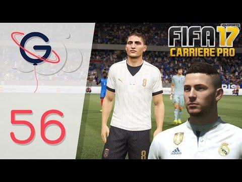 FIFA 17 : CARRIÈRE PRO FR #56 - Éliminatoire Euro contre l'ITALIE !